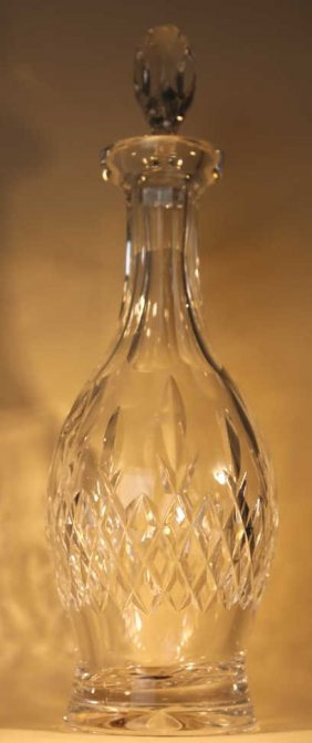 "Waterford ""lizmore"" Crystal Decanter"