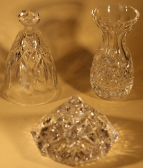 "Waterford ""lizmore"" Crystal Grouping"