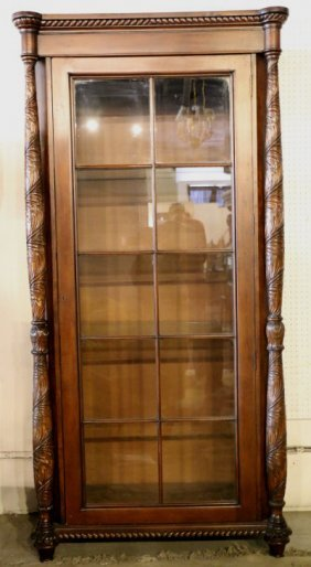 Bevan Funnel Mahogany Tall Book Case