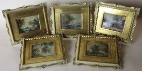 Italian Antique Framed Works