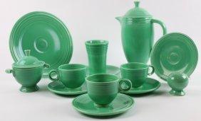 Fiestaware Green Vintage Grouping