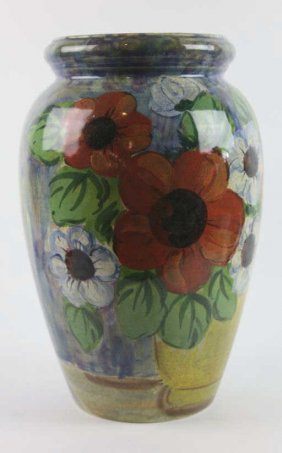 Italian Sara Hand Painted Vase