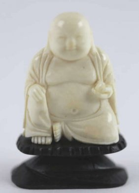Asian Antique Hand Carved Buddha