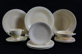 Fiestaware White Vintage Grouping