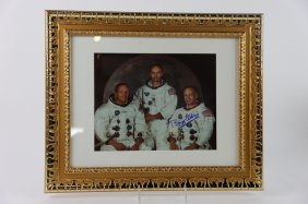 Nasa Apollo 11 Portrait Framed And Signed