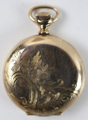 Waltham Antique Handchaised Pocket Watch