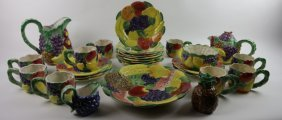 Fitz & Floyd Porcelain Dinnerware Grouping
