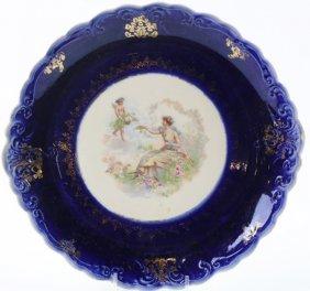 De Soto Antique Porcelain Charger
