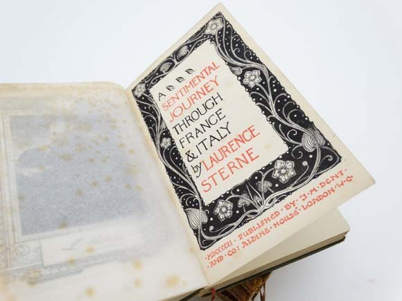 Laurence sterne essays