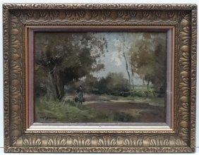 William George Frederick Jansen (1871-1949) Dutch, Oil