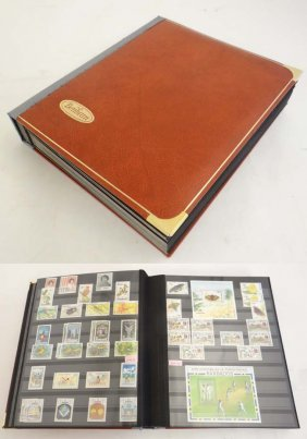 Stamps: A Large Stock Book Having A Range Of Stamps