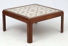 Vintage Retro : A British G- Plan Tile Top Coffee Table