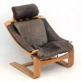Vintage Retro : A Swedish Kroken De Lux Chair As