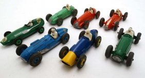 A Collection Of 7 C1950s Diecast '' Dinky Toy '' Race