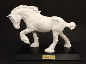 A Beswick Model Formed As A Heavy Horse '' Spirit Of