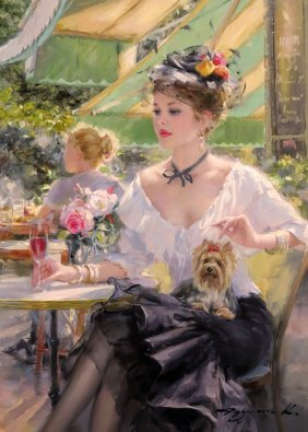 Konstantin Razumov (b.1974) Russian School, Oil On