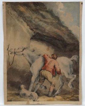 Circle Of George Morland (1763-1804) English Equine