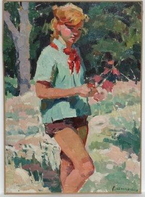 Shpolanskaya Ludmila Grigorievna (b.1934), Russian