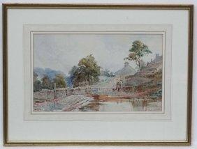 Read Turner Xix, Watercolour, Fishing A Backwater,