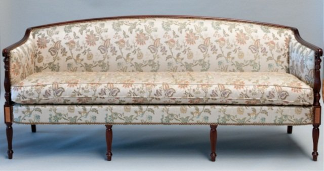 116 A Hickory Chair Company Federal Style Sofa Lot 116