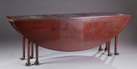 Queen Anne Drop Leaf Wake Table