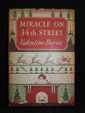 MIRACLE ON 34TH STREET FIRST EDITION WDUST JACKET Lot 170