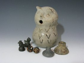 Pueblo People & South American & Chinese Artifacts