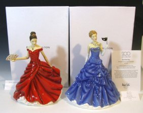 2 Royal Doulton Figurines Hn5604 & Hn5726