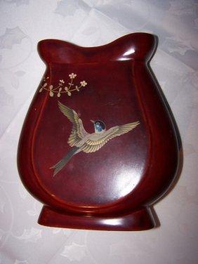 Maruni Lacquerware Vase