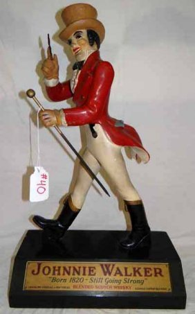 Johnny Walker Statue Lot 40