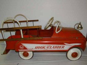 Amf Hook & Ladder Pedal Car
