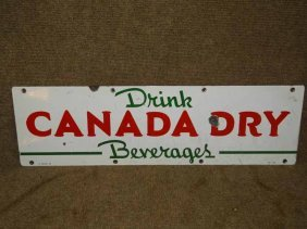 Canada Dry Beverages Sign