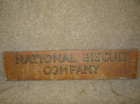 National Biscuit Sign