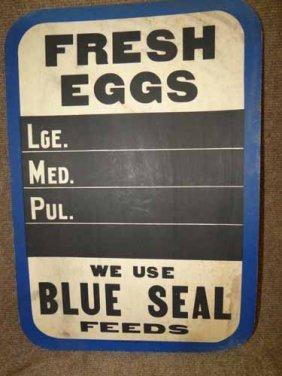 """fresh Eggs"" Sign"