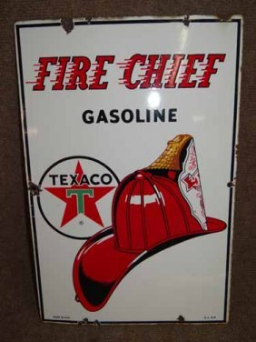 Fire Chief Pump Sign
