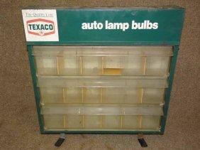 Texaco Auto Lamp Bulb Display