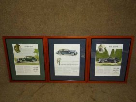 (3) Packard Prints