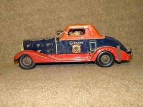 Marx G-man Car