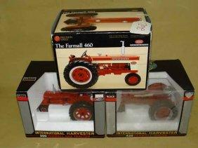 (3) Farmall Tractors