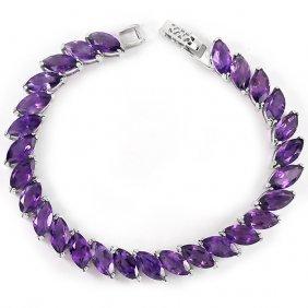 Stunning Natural Amethyst Bracelet