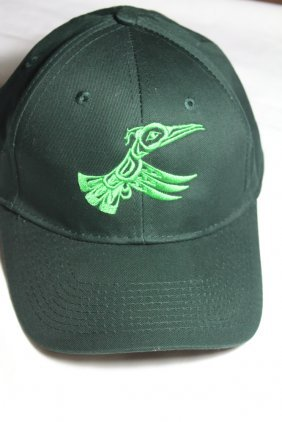 West Coast Native Embroidered Hummingbird Hat