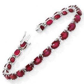 Natural Burma Ruby 36 Carats Bracelet