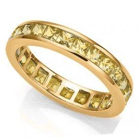 Genuine Yellow Sapphire 2.00 Ct Ring