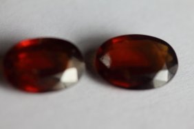 Natural Hessonite Garnet 7.37 Ct - No Treatment