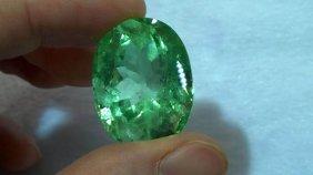 Natural Columbian Emerald 66.15 Carats - No Tretment