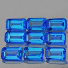 Natural Swiss Blue Topaz 3.15 Carats - Vvs