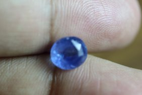 Natural Blue Sapphire 3.58 Ct - (no Treatment)