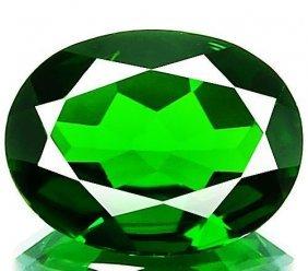 Natural Chrome Diopside 2.74 Carats - Vvs