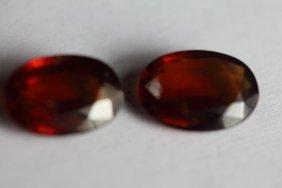 Natural Hessonite Garnet 7.37 Ct - No Treatment
