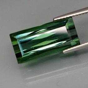 Natural Bluish Green Tourmaline 10.15 Cts